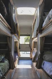 Diesel Pusher With Bunk Beds by 67 Best Skoolie Bus Rv Conversion Homes Images On Pinterest