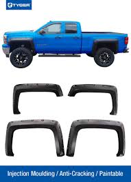 Pocket Bolt-Riveted Style Fender Flares For 2014-2018 Chevy ... Bushwacker Chevy Silverado 2004 Pocket Style Matte Black Fender For 9907 Silveradogmc Sierra Pickup 4pc Set Pockriveted Lund Rxrivet Flares 1415 1500 Rough Country Wrivets For 62018 Chevrolet Boltriveted 42018 Green With Dna Motoring 9906 Gmc Factory 4095602 Flare Oestyle Set Intertional Bushwacker Products F Rivet 59 Bed Length