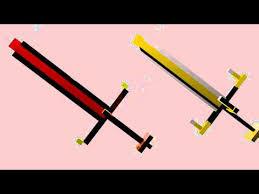 Minecraft Royal Guardian SwordBlender Rig