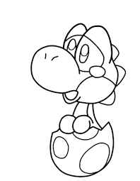 Baby Mario And Luigi Peach Daisy Coloring Pages