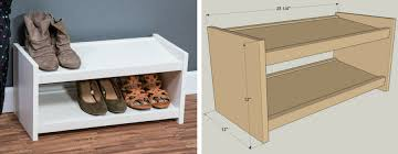 Free Closet Organizer Plans by Two Tier Shoe Shelf Kreg Tool Company