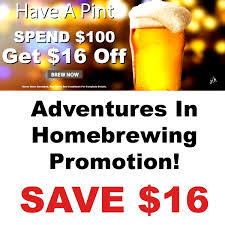 Homebrewing.org Promotion – Save $16 | Home Brewing Promo Codes