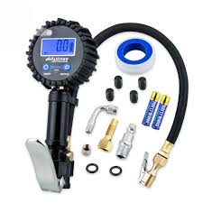 Onewell Digital Tire Inflator Gauge With 0.1 Display Resolution + ... Tire Inflator From Northern Tool Equipment 2018 Car Truck Tyre Tire Air Inflator Pump Hose Pssure Meter Gauge Digital Compressor Deko For Suv Motor 6mm Brass Valve Connector Clipon Epauto 12v Dc Portable By Cheap Find Deals On Line At 12volt 150 Psi Compact Mini Inflatorsuperpow Auto 100psi Inflators Or China Jqiao Auto Audew