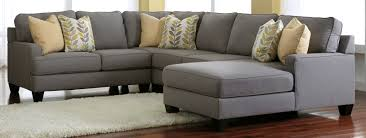 Gray Sectional Living Room Ideas by Chair U0026 Sofa Have An Interesting Living Room With Ashley