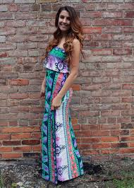 tie dye maxi dress tiger lily boutique online store powered by