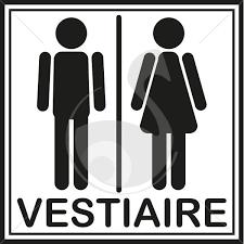 pictogramme vestiaire homme et femme