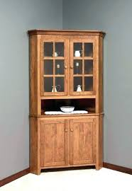 Kitchen Hutch Cabinets Wooden Corner Cabinet Dining Room Small Buffet Sideboard
