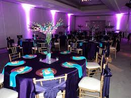 Awesome Purple And Blue Wedding Table Decor 62 In Rent Tables Chairs For With