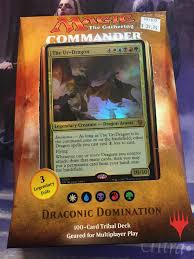 Goblin Commander Deck 2014 by Draconic Domination Commander 2017 Deck Spartannerd Unboxing And