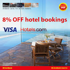 AmBank - Get 8% OFF Hotel Bookings (Coupon Code: VISA8) At ... Hotelscom Promo Code For 10 Discount Bookings Until 7 Off Coupon With Emlhotel Code Dealcomsg Coupon 5 Gateway Tire Service Coupons Hotels Nascar Speedpark Seerville Tn 12 The Mobile App From Dhr All Hotel Reservations Made On Hotelscom Use Hotelscom Off Discount 2019 August Advocare Classic Amazonca Book 2018 Marvel Omnibus Deals Latest Update September