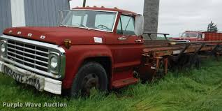 100 1975 Ford Truck For Sale Custom Cab Flatbed Truck Item DB3944 SOLD Feb