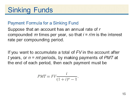 sinking fund calculator compounded annually sinks ideas