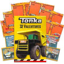 99 Kidds Trucks Amazoncom Tonka Kids Valentine Cards 32 Count 59378
