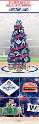 75 Foot Pre Lit Christmas Tree by Chicago Cubs Christmas Tree Collection Lighted Trees Chicago