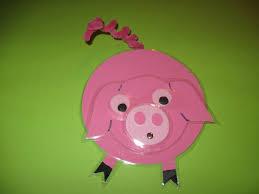 Imagier Des Coloriage Un Petit Cochon Pendu Au Plafond