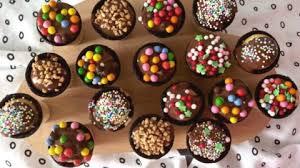 muffins im waffelbecher