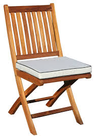 Folding Indoor/Outdoor Dining Chair Cushion