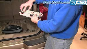 how to install repair replace taillight connector plate chevy