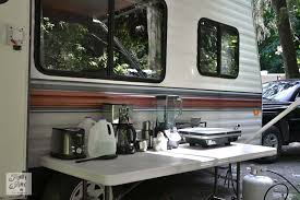 Tips For Camping In A Travel Trailer Via Funky Junk Interiors