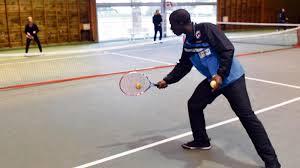 mont aignan tennis à mont aignan échange de balles contre le cancer