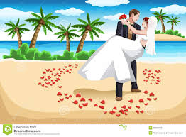 Tropics Clipart Beach Wedding 2