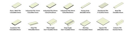 types of tiles national tiles