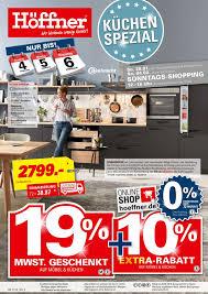 höffner küchen spezial 24 01 2018 06 02 2018