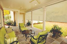 Outdoor Shades For Patio by Porch Shades Lakeland Blinds Shades And Window Treatments