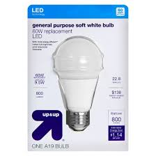 light bulb led general purpose soft white 60 watt up up target