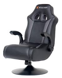 X Rocker 5128301 2.1 Wireless Bluetooth Audi Pedestal Video Gaming Chair,  Black Pyramat Wireless Gaming Chair Home Fniture Design Game Bluetooth Singular X Rocker 51259 Pro H3 41 Audio Chair Infiniti 21 Series Ii Bckplatinum Aftburner Pedestal New 2018 Xrocker Se Sound Fox 5171401 Cxr1 Ackblue Office Chairs Xrocker Spider With