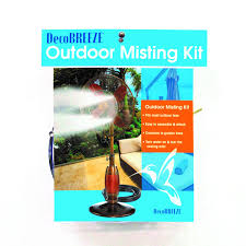 Cheap Patio Misting Fans by Amazon Com Decobreeze Outdoor Misting Kit For Outdoor Fans Home