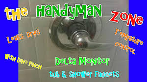 Fix Leaking Bathtub Faucet by Delta Monitor Tub Shower Faucet Fix Leaks From Spout Shower