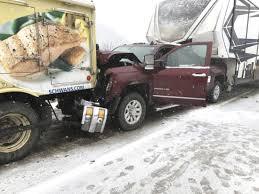 100 Truck Job Seekers Snowy Weather Causes Mayhem News Sports S The Sentinel