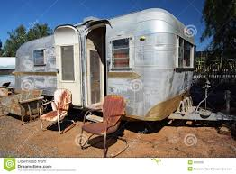 Trailer Home With Windows