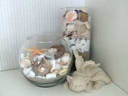 Seashell Christmas Tree by Diy Decor For Our Beach Home Glass Bowl Vase And Shells From The