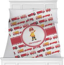 100 Toddler Fire Truck Bedding Trucks Blanket Personalized Baby N