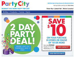 Party City Printable Coupon $10 Off $50 (Expires 6/15) - Al.com Party City Coupons Shopping Deals Promo Codes December Coupons Free Candy On 5 Spent 10 Off Coupon Binocular Blazing Arrow Valley Pinned June 18th 50 And More At Or 2011 Hd Png Download 816x10454483218 City 40 September Ivysport Nashville Tennessee Twitter Its A Party Forthouston More Printable Online Iparty Coupon Code Get Printable Discount Link Here Boaversdirectcom Code Dillon Francis Halloween Costumes Ideas For Pets By Thanh Le Issuu