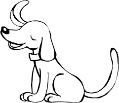 Dogs Coloring Pages Puppy Pictures Free Kids Book