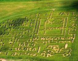Pumpkin Patch Green Bay Wi by Corn Maze