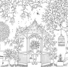 Flowers Colouring Book Beautiful Pictures From The Garden Of Nature Nipic
