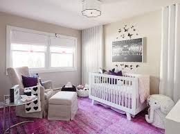 purple and grey nursery contemporary nursery