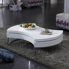 moderne kreative dreh kaffee tisch lagerung runde sofa tisch wohnzimmer zentrum tisch home möbel edelstahl rahmen