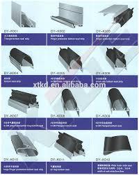 Best Price Rubber Plastic Garage Door seals strip View plastic