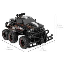 100 Monster Truck Remote Control IBOT Off Road Racing Car RC W Headlights