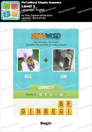 PicToWord Classic Answers Game Solver