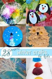 28 Easy Winter Crafts For Kids Hands On As We Grow Fun