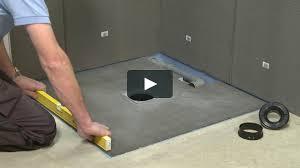 about tile backer board on vimeo