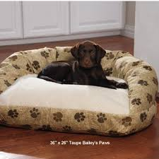 dog beds drs foster and smith self warming deluxe bolster bed