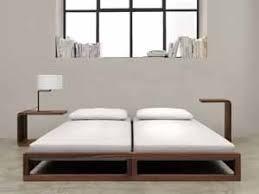 schmale nachttische schlankes design fürs schlafzimmer