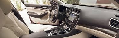 2016 Nissan Maxima Alcantara Inserts Interior Color Options